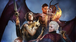 Baldur's Gate Early Access image of characters